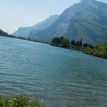Das Tal der Seen auf dem Weg von Trento zum Gardasee
