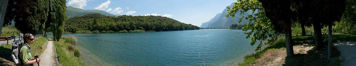 Toblino See im Tal der Seen