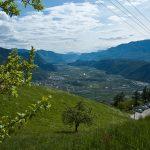 Blick auf das Südtiroler Unterland