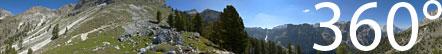 Aufstieg vom Langental zum Puez Hochplateau