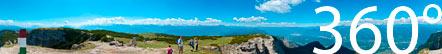 360° Panoramablick vom Roen