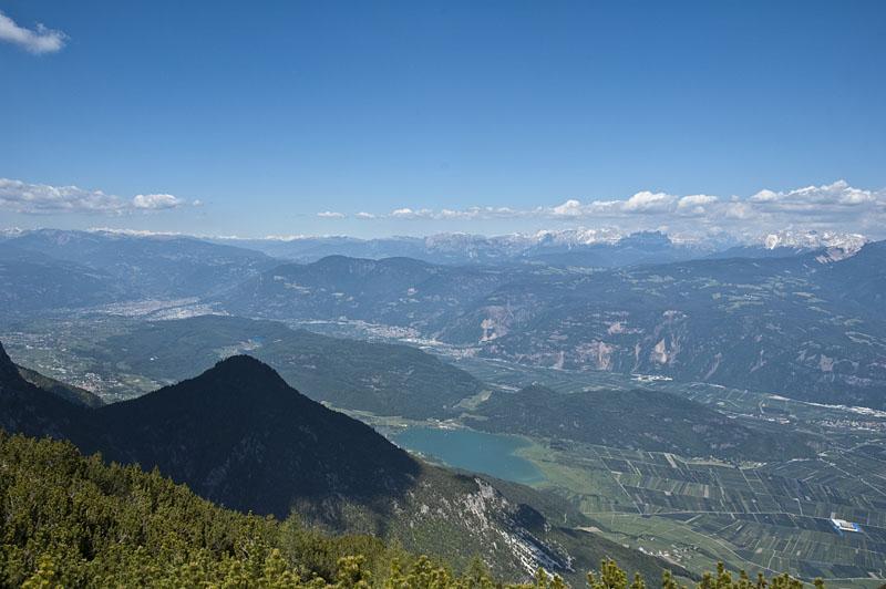 Überetsch, Unterland und die Dolomiten