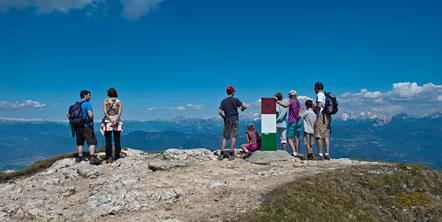 Roen, höchster Gipfel des Mendelgebirges