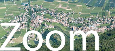 Zoom Foto Weindorf Tramin mit Kalterer See
