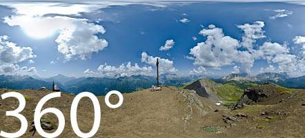 Am Col di Lana inmitten der Belluneser Dolomiten