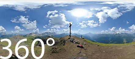 Herrlicher Panoramablick am Col di Lana