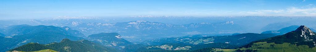 Blick vom Schwarzhorn