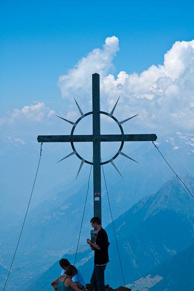 Gipfelkreuz des Hirzer