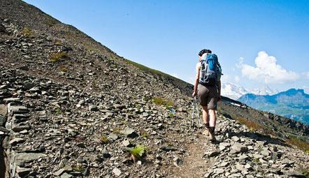Aufstieg zum Monte Sief