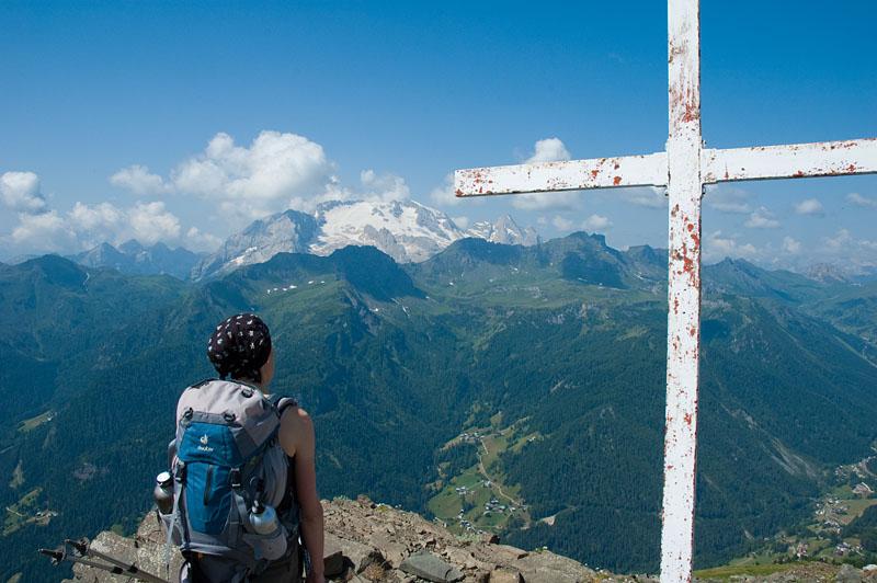 Gipfel des Monte Sief