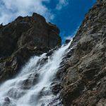 Wasserfall in der Sesvenna Gruppe
