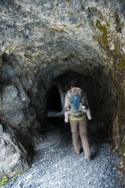 Auf dem Felsenweg der Uina Schlucht