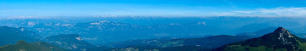 Weißhorn und Südtiroler Unterland