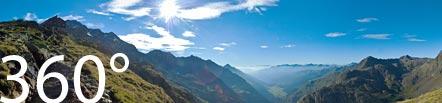 360 Foto vor der Teplitzerhütte