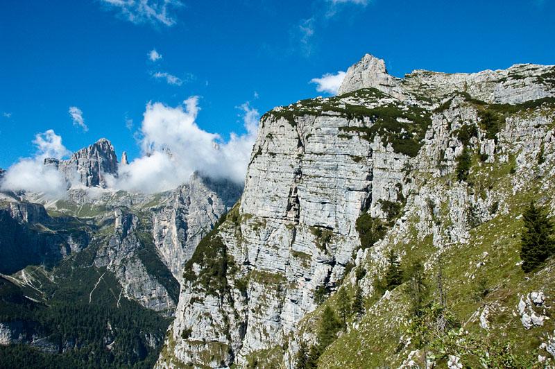 In den Brenta Dolomiten
