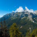Blick auf die Brenta Dolomiten