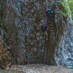 Einstieg des Burrone Klettersteigs
