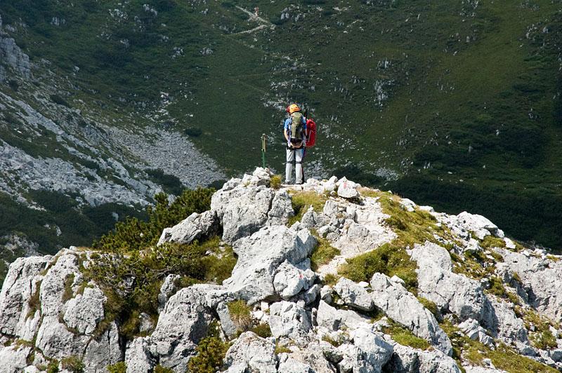 Klettersteig Gaetano Falcipieri