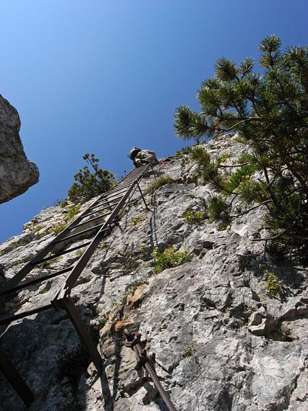Leiter im Klettersteig Gaetano Falcipieri