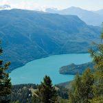 Blick auf den Molveno See
