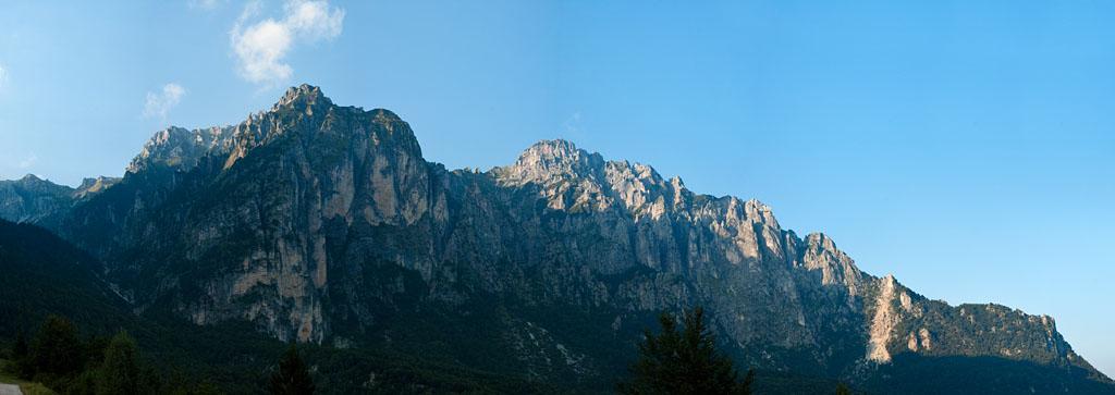 Pasubio Grat Klettersteig Falcipieri