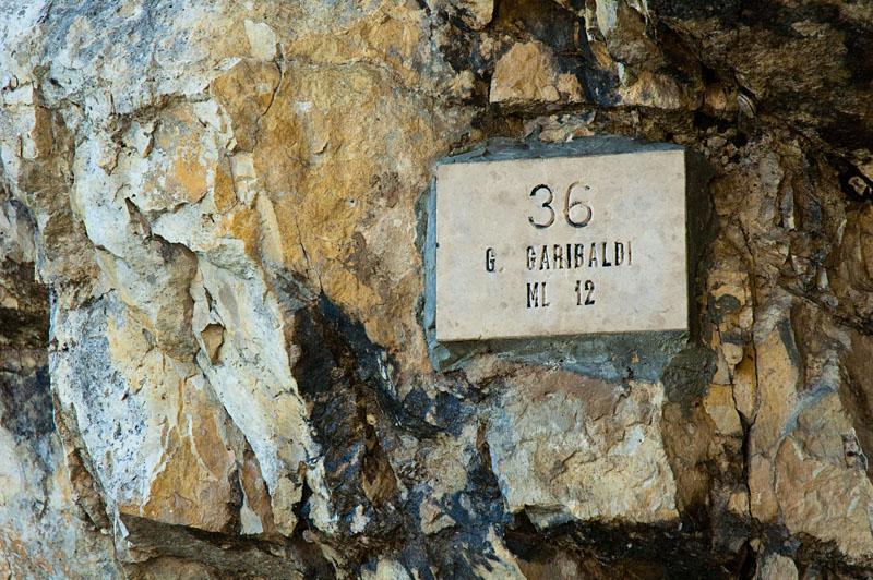 Alle Tunnel sind nummeriert