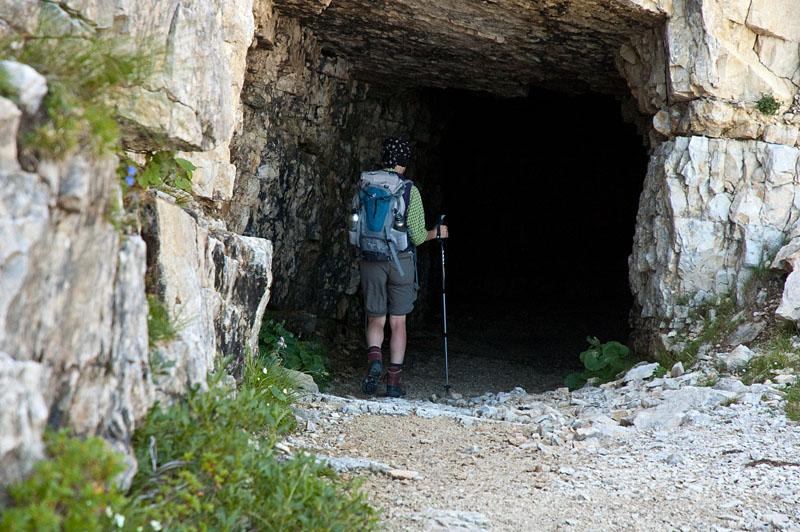 Tunneleinstieg