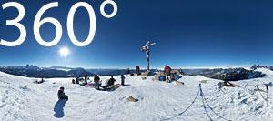 360° Foto Gipfelkreuz Raschötz