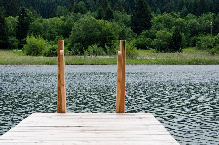 Steg Fennberger See