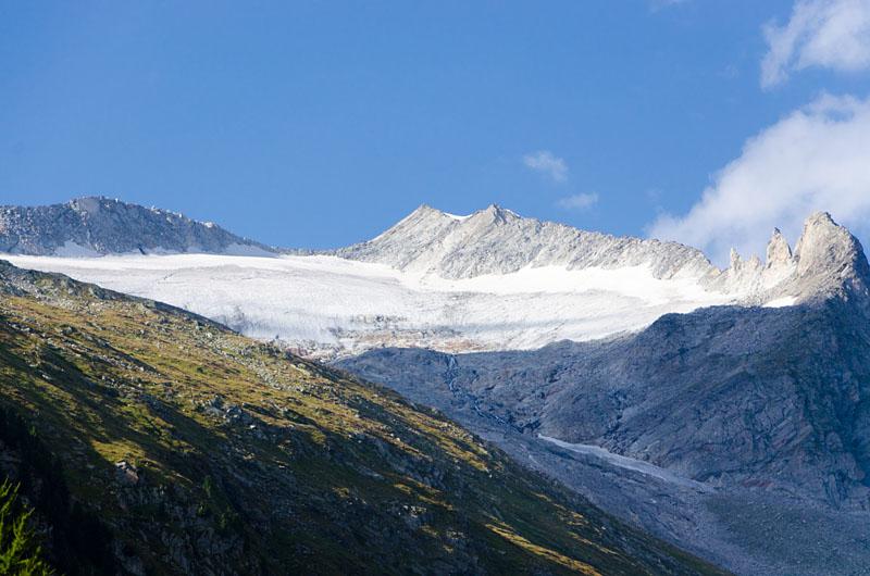 Blick zum Moeseler Gletscher 02