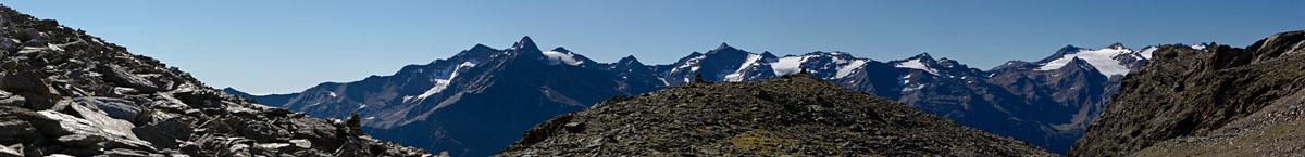 Panorama Ortlergruppe
