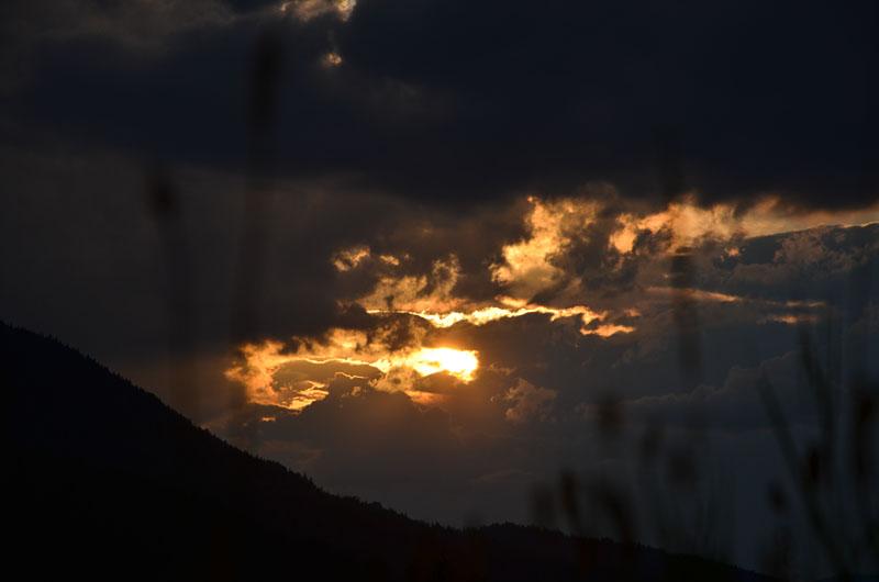 Sonnenuntergang Dolomiten 01