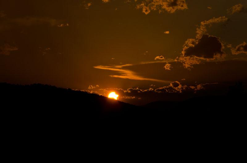 Sonnenuntergang Sexten 01