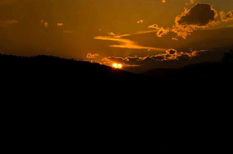 Sonnenuntergang Sexten 02