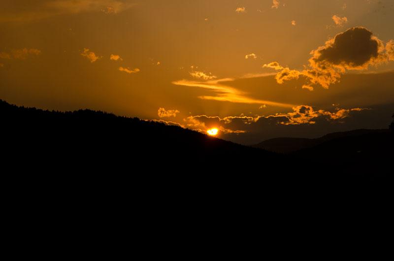 Sonnenuntergang Sexten 03