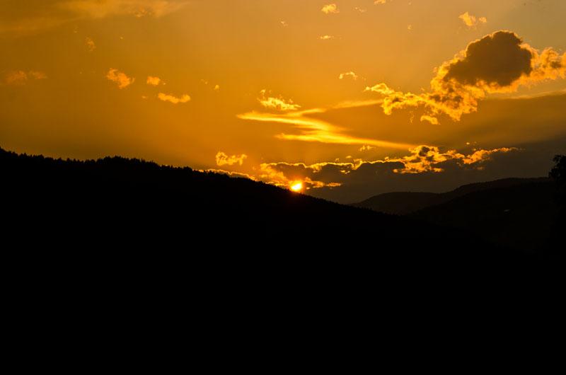 Sonnenuntergang Sexten 04