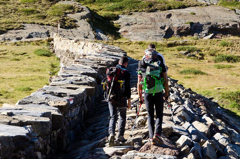 Die Plima Mauer - Talschluss Martell