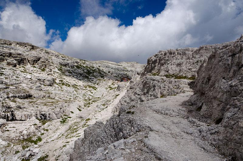 Wanderweg Buellelejoch Huette