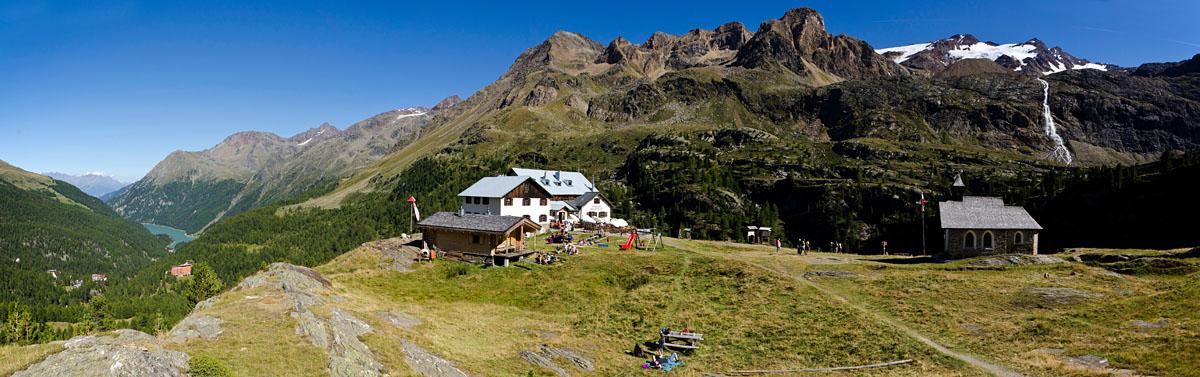 Panorama Zufallhütte