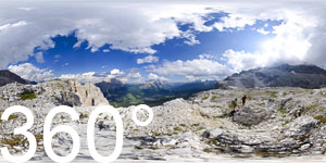 Über Cortina d'Ampezzo