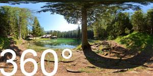 Am Lago di Ghedina zu Füßen der Tofane