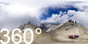 Auf dem Gipfel der Tofana di Mezzo