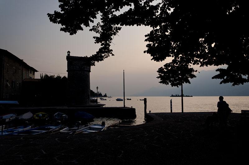 Abend am Hafen von Malcesine 01