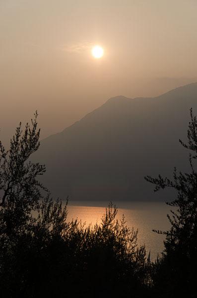Abendstimmung am Gardasee 07