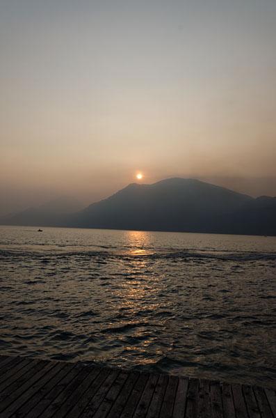 Abendstimmung am Gardasee 09