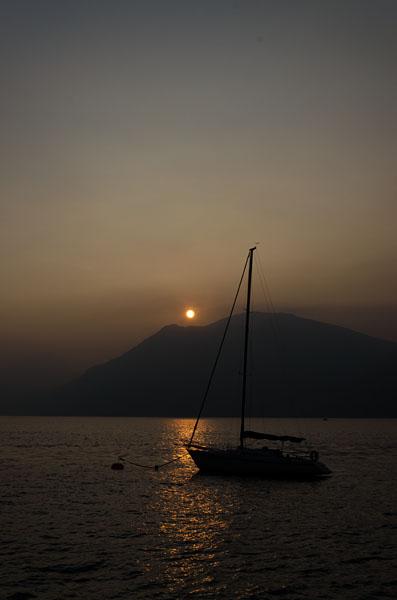 Abendstimmung am Gardasee 11