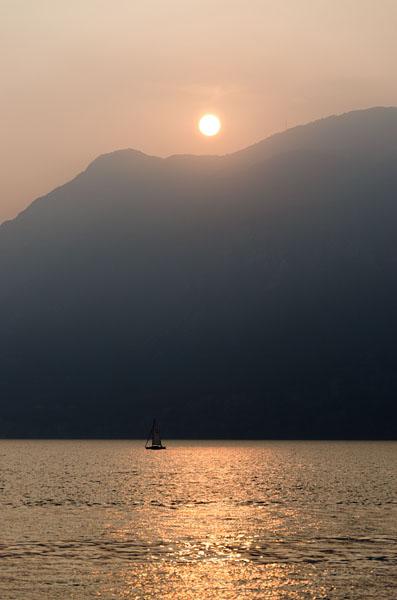 Abendstimmung am Gardasee 13