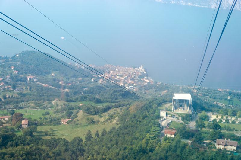 Seilbahn Malcesine Monte Baldo 04