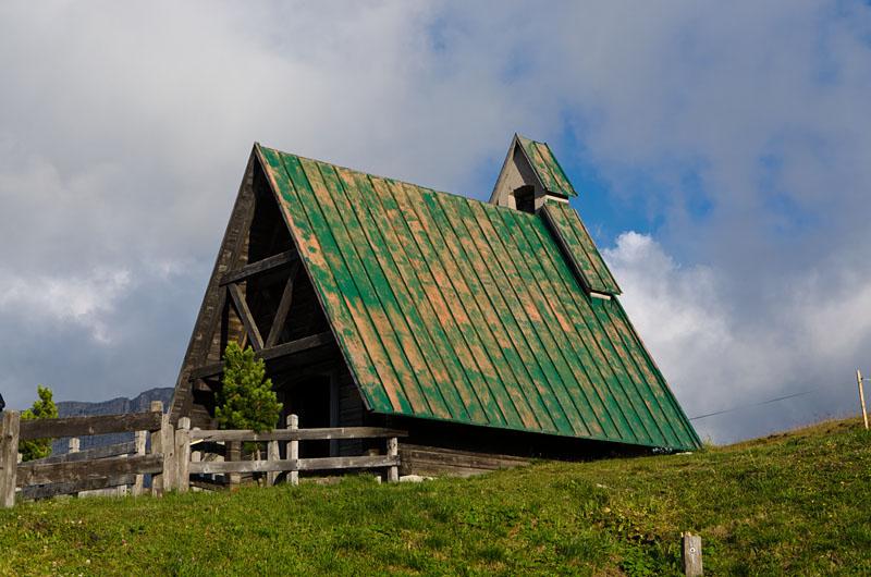 Kapelle am Passo Giau