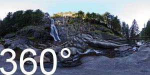 Barbianer Wasserfälle: Oberer Wasserfall